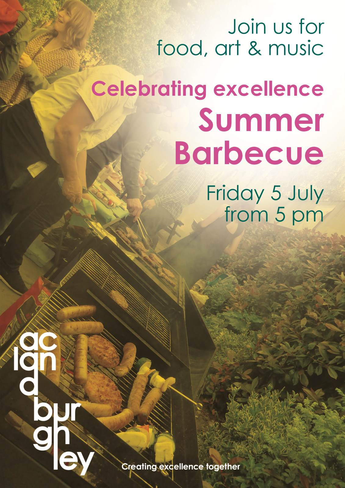 Celebrating excellence Summer Barbecue